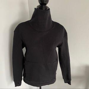 Lululemon Yes Fleece Cowl Neck Pullover Sz 4